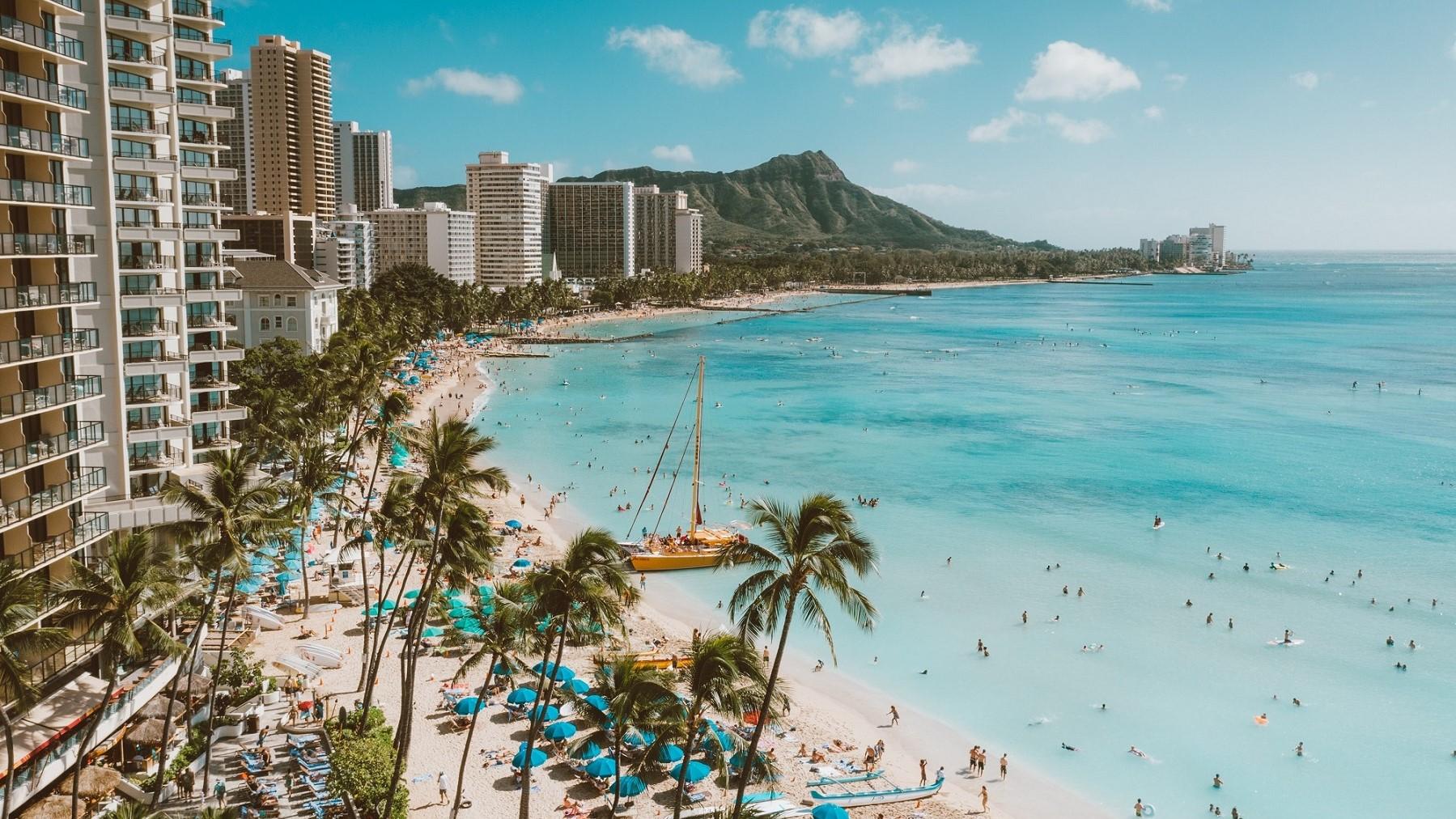 ハワイ_初めての海外旅行におすすめの国